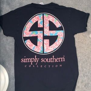 Simply Southern T-Shirt (Navy)